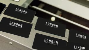 London Sporting Club Card